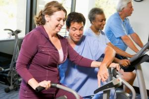 Patient Exercising
